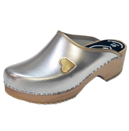 Clog My Heart Silver