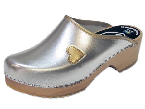 Clog My Heart Silver