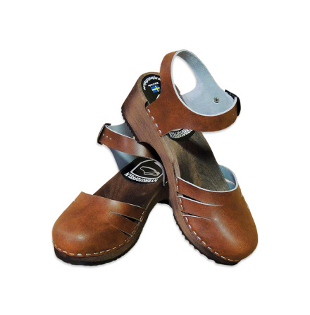 Clog Ankle Close Antique