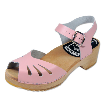 Clog Sandal Butterfly Pink