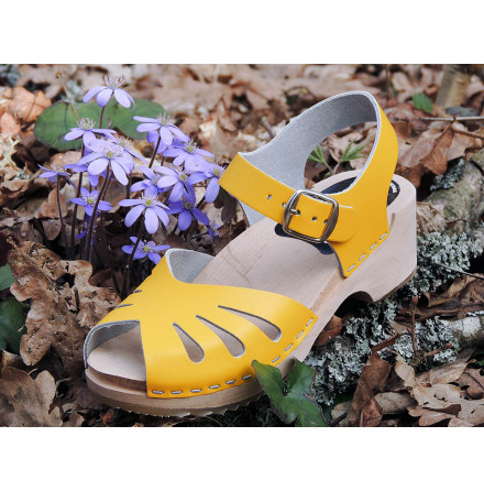 Clog Sandal Butterfly Mini Yellow