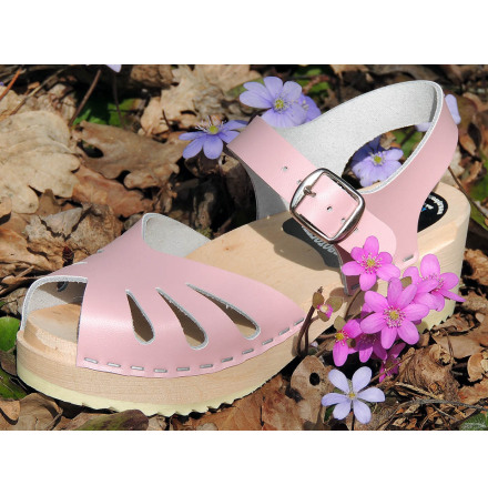 Clog Sandal Butterfly Mini Pink