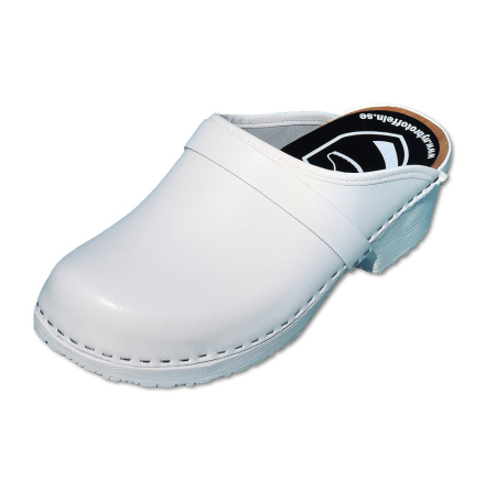 Classic White PU Men´s Clogs