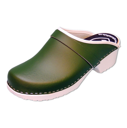 Classic Green PU Men´s Clogs