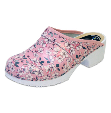 Sakura Pink Women´s Soft Sole Clogs