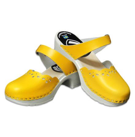 Clog Sandal Penny PU Yellow