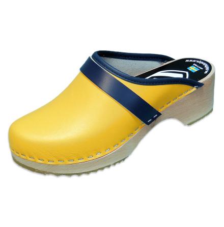 Sweden Yellow Children´s Clogs