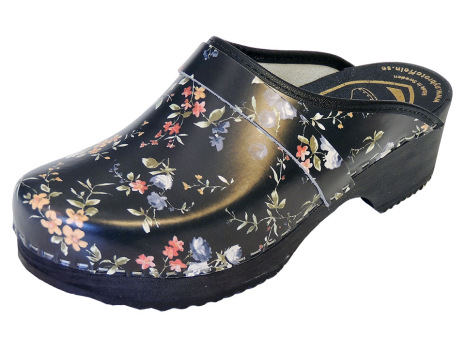 Blue Rose Clogs