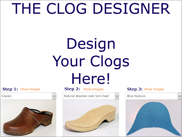 Design your clogsClogs